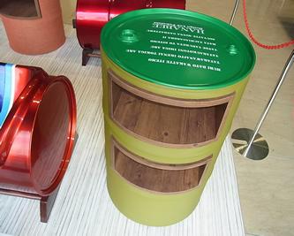 ドラム缶アート